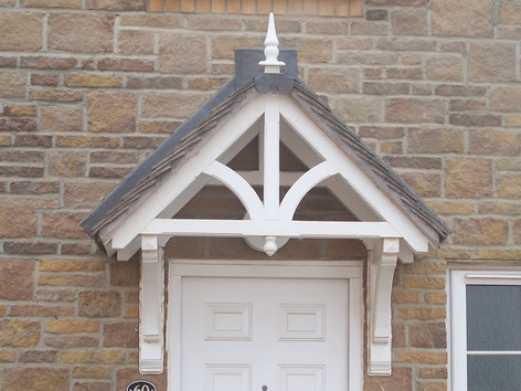 About George Woods - Our traditional Ashcombe A frame style canopy